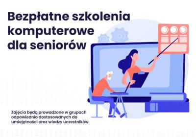 Bezpłatne szkolenia komputerowe dla seniorów