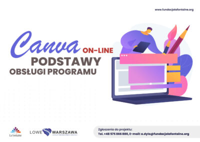 Canva on-line: Podstawy obsługi programu