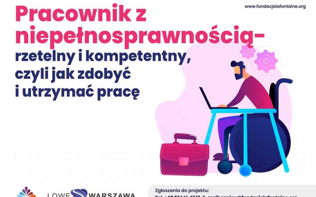 Pracownik z niepełnosprawnością