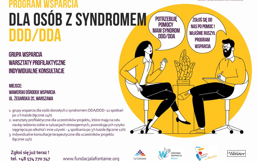Program Wsparcia dla osób z syndromem DDD/DDA